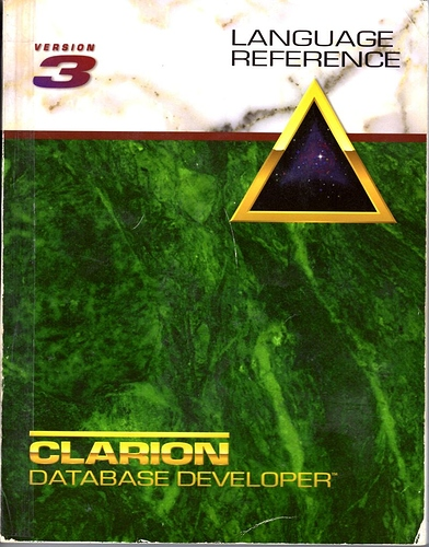 Clarion 3 Language Reference
