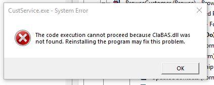Code Execution Broke