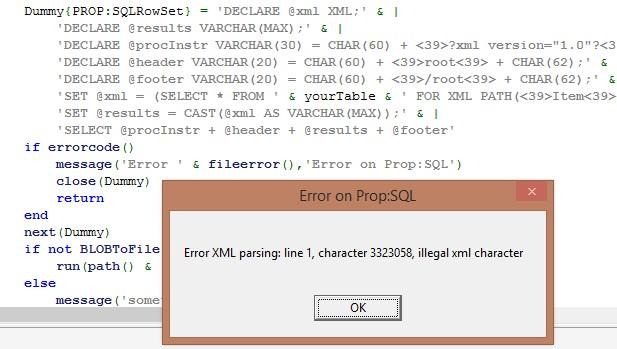 PropSQLChecking